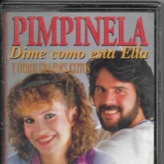 Casetes antiguos: == C204 - PIMPINELA - DIME COMO ESTA ELLA. Lote 124487103