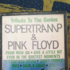 Casetes antiguos: CASETE TRIBUTE TO THE GENIUS. SUPERTRAMP & PINK FLOID. Lote 125195730