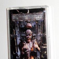 Casetes antiguos: CASETE CASSETTE - IRON MAIDEN - THE X FACTOR - ORIGINAL EMI RECORDS 1995 - HEAVY METAL. Lote 125342995