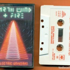 Casetes antiguos: EARTH WIND & FIRE - ELECTRIC UNIVERSE - EDITA: CBS - AÑO: 1983 - CASETE, A-60. Lote 125372851