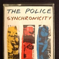 Casetes antiguos: THE POLICE - SYNCHRONICITY AM RECORDS 1983 - CINTA CASETE CASSETTE. Lote 126009555