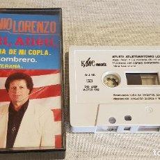 Casetes antiguos: ANTONIO LORENZO / ATLÉTI, ATLÉTI / MC - KMC RECORDS - 1992 / CINTA DE LUJO.. Lote 126081419