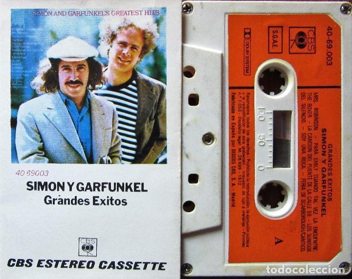 SIMON Y GARFUNKEL - GRANDES ÉXITOS (Música - Casetes)