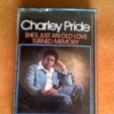 Casetes antiguos: CASETE DEL MUSICO CHARLEY PRIDE. Lote 126206759