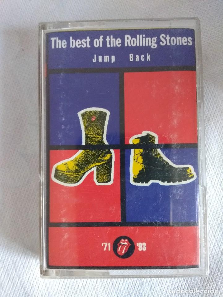 CASETE/ROLLING STONES/THE BEST OF THE ROLLING STONES JUMP BACK. (Música - Casetes)