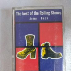 Casetes antiguos: CASETE/ROLLING STONES/THE BEST OF THE ROLLING STONES JUMP BACK.. Lote 126281499