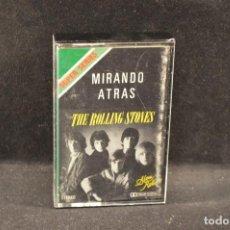Casetes antiguos: THE ROLLING STONES - MIRANDO ATRAS - CASETE . Lote 126859579
