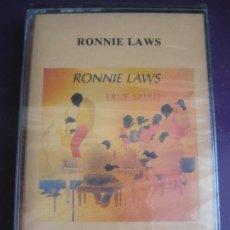 Casetes antiguos: RONNIE LAWS CASETE PASION 1991 TRUE SPIRIT - JAZZ FUSION - SOUL FUNK - PRECINTADA, SIN ESTRENAR. Lote 127213211