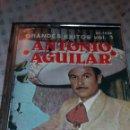 Casetes antiguos: ANTIGUA CASSETTE DE MÚSICA MEXICANA ANTONIO AGUILAR. Lote 127517046