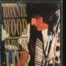 Casetes antiguos: CASETE RONNIE WOOD ( THE ROLLING STONES ) SLIDE ON LIVE . Lote 127593207