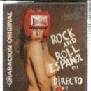 Casetes antiguos: CASETE ROCK AND ROLL EN DIRECTO 2 ( LOS DIABLOS NEGROS, JOSE BARRANCO, MISTERY MEN, JULIAN SACRISTAN. Lote 127594115