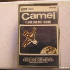 Cassettes Anciennes: CAMEL I CANT SEE YOUR HOUSE FROM HERE - CASETE - DECCA 1979 - P. Lote 127735499