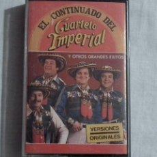 Casetes antiguos: CINTA CASSETTE - EL CONTINUADO DEL CUARTETO IMPERIAL. Lote 127792335