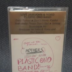 Casetes antiguos: JOHN LENNON - BEATLES - LIVE JAM - CASSETTE - UK - FRANK ZAPPA AND THE MOTHERS OF INVENTION. Lote 127852035
