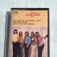 Casetes antiguos: CINTA CASSETTE - THE CATS - THE BEST OF. Lote 127853963