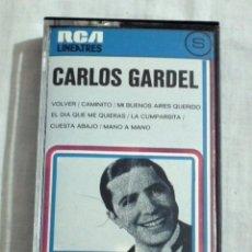 Casetes antiguos: CINTA CASSETTE - CARLOS GARDEL. Lote 127854343