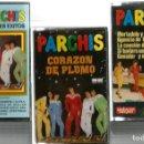 Casetes antiguos: INFANTIL, LOTE 3 CASETES DE PARCHIS . Lote 128180279