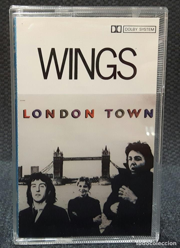 Paul mccartney - wings - beatles - london town - Sold at Auction
