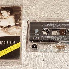 Casetes antiguos: MADONNA / LIKE A VIRGIN / MC - SIRE RECORDS - 1984 / CALIDAD LUJO. Lote 128663651
