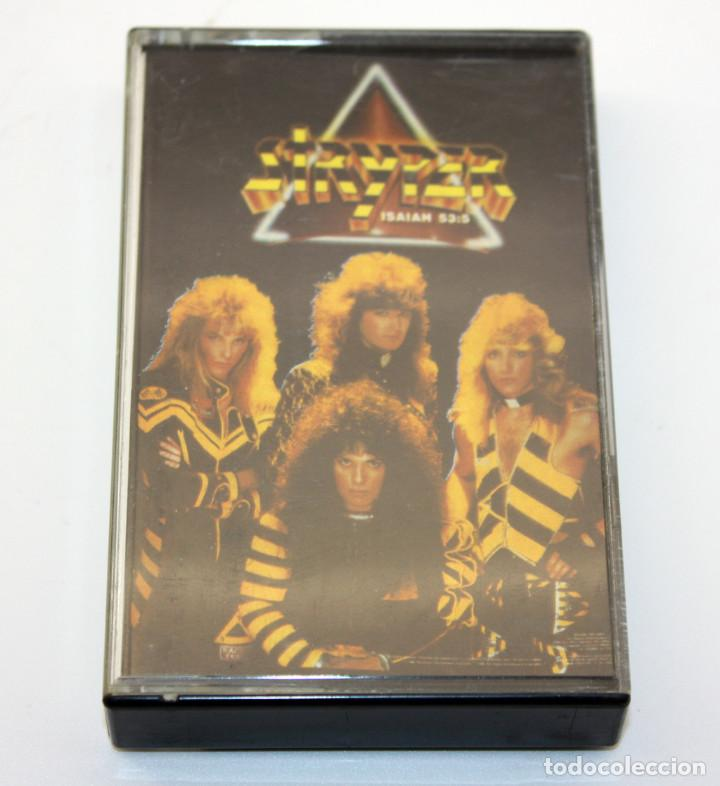 STRYPER - TO HELL WITH THE DEVIL - ENIGMA - 1986 - MADE IN SPAIN - CASETE CASSETTE (Música - Casetes)