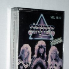 CINTA CASSETTE - STRYPER - TO HELL WITH THE DEVIL