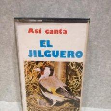 Casetes antiguos: CINTA - CASSETTE - CASET - ASI CANTA EL JILGUERO - APHRODITA 1980. Lote 194880662