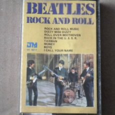 Casetes antiguos: CINTA CASSETTE - THE BEATLES - ROCK AND ROLL. Lote 129661931