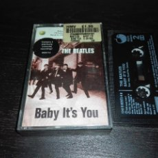 Casetes antiguos: CINTA BEATLES BABY IT'S YOU CASSETTE. Lote 130219783