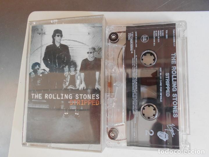 THE ROLLING STONES-CASETE STRIPPED (Música - Casetes)