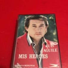 Casetes antiguos: LUIS AGUILE. MIS HEROES. AEROLINEAS ARGENTINAS.1991. Lote 130597771