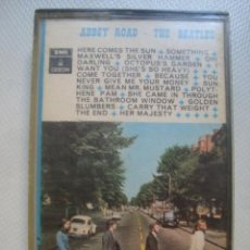 Casetes antiguos: CASETE THE BEATLES - ABBEY ROAD (EMI ODEON, ESPAÑA, 1+70). 1 J 244-04.243.. Lote 130695899