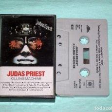 Casetes antiguos: CINTA CASSETTE - JUDAS PRIEST - KILLING MACHINE. Lote 130708004