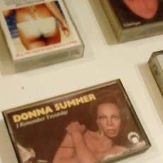 Casetes antiguos: G-708 CASETE DONNA SUMMER I REMEMBER YESTERDAY . Lote 131132216