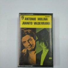 Casetes antiguos: ANTONIO MOLINA Y JUANITO VALDERRAMA. CASETE. TDKV20. Lote 131178408