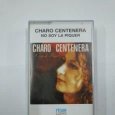 Casetes antiguos: CHARO CENTENERA. NO SOY LA PIQUER. CASETE. TDKV20. Lote 131178532