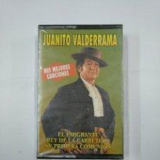 Casetes antiguos: JUANITO VALDERRAMA. MIS MEJORES CANCIONES. EL EMIGRANTE. REY DE LA CARRETERA. CASETE. NUEVO TDKV20. Lote 131178812