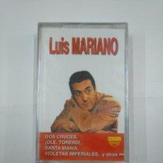 Casetes antiguos: LUIS MARIANO. DOS CRUCES. ¡OLE TORERO!. SANTA MARIA. VIOLETAS IMPERIALES. NUEVO. CASETE. TDKV20. Lote 131179572
