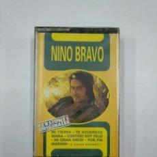 Casetes antiguos: NINO BRAVO. VERSIONES ORIGINALES. MI TIERRA. TE ACUERDAS MARIA. MI GRAN AMOR. CASETE. NUEVO TDKV20. Lote 131179680