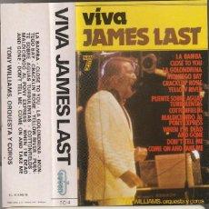 Casetes antiguos: VIVA JAMES LAST (CASSETTE SEVEN 1978) MANOLO GARCIA. Lote 210552276