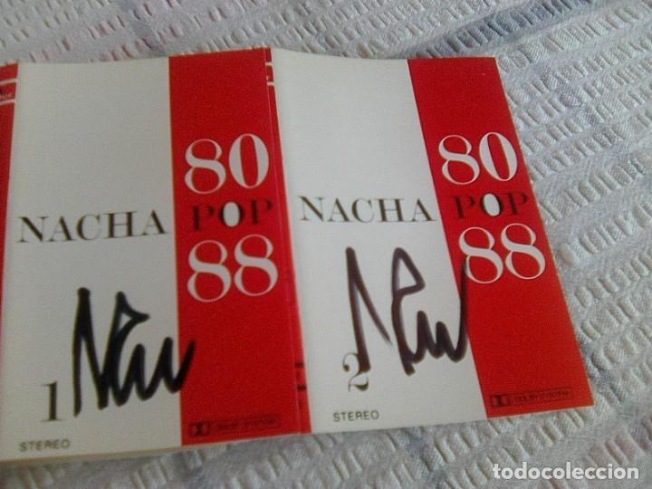 ¡ FIRMADA´S POR NACHO GARCÍA VEGA! - NACHA POP - 80 - 88 (POLYGRAM, 1988) -2 CINTAS - (Música - Casetes)