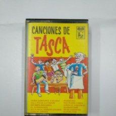 Casetes antiguos: CANCIONES DE TASCA. DESDE SANTURCE A BILBAO. RIANXEIRA. CLAVELITOS. CASETE TDKV11. Lote 132095090