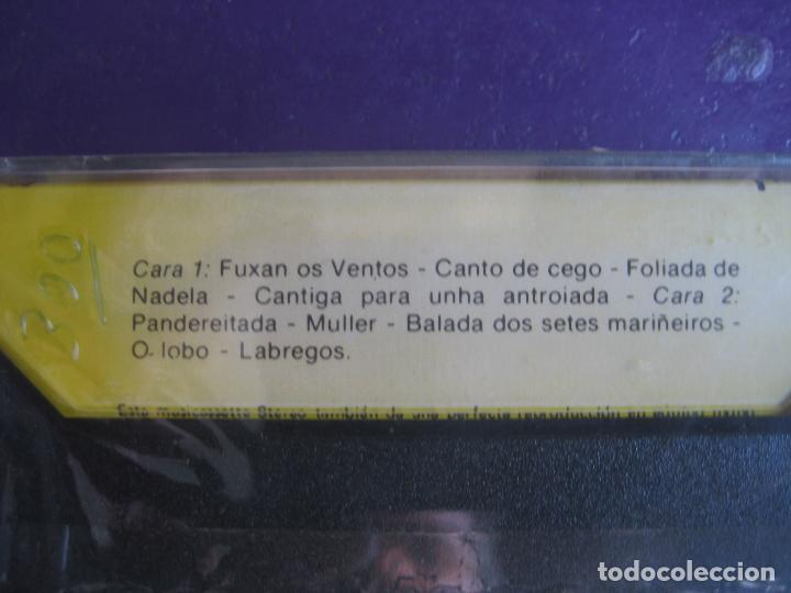 Casetes antiguos: FUXAN OS VENTOS CASETE SMASH PHILIPS - PRECINTADA - FOLK GALICIA - Foto 2 - 133289990