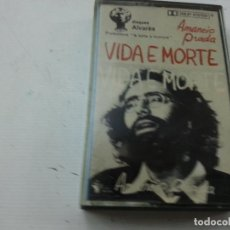 Cassette antiche: AMANCIO PRADA. VIDA E MORTE. DISQUES ALVARÈS-CASETE-N. Lote 133324442