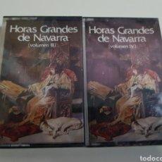 Casetes antiguos: HORAS GRANDES DE NAVARRA - CASETE - III Y IV - PB13. Lote 133678783