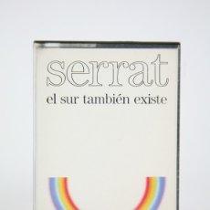 Casetes antiguos: CINTA DE CASETE / CASSETTE - SERRAT, EL SUR TAMBIÉN EXISTE - ARIOLA - AÑO 1985. Lote 133701570