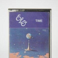 Casetes antiguos: CINTA DE CASETE / CASSETTE - ELO, TIME - JET RECORDS - AÑO 1981. Lote 133707030