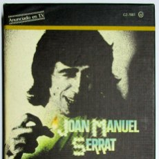 Casetes antiguos: JOAN MANUEL SERRAT. ALBUM DE ORO. CONTIENE CUATRO CASSETTES. LOTE 0001. Lote 133708442