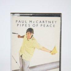 Casetes antiguos: CINTA DE CASETE/CASSETTE - PAUL MC CARTNEY, PIPES OF PEACE - EMI - AÑO 1983. Lote 133733751