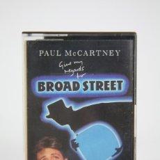 Casetes antiguos: CINTA DE CASETE/CASSETTE - PAUL MC CARTNEY, GIVE ME REGARDS TO BROAD STREET - EMI - AÑO 1984. Lote 133733774