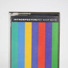 Casetes antiguos: CINTA DE CASETE/CASSETTE - PET SHOP BOYS, INTROSPECTIVE - EMI - AÑO 1988. Lote 133733875